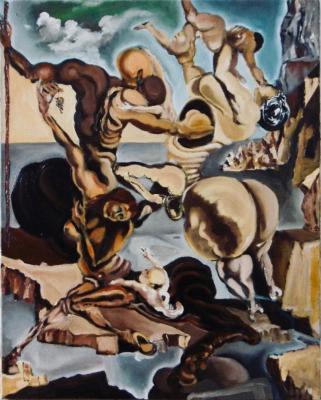 386. Famille de centaures marsupiaux