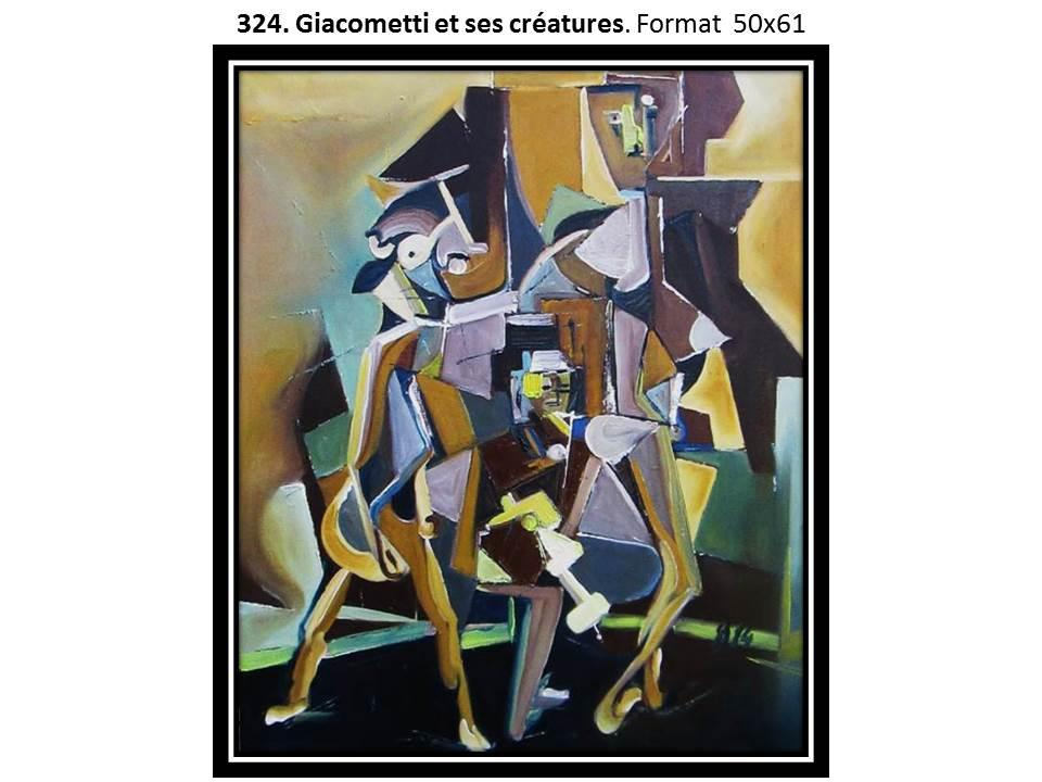 324 giacometti et ses creatures