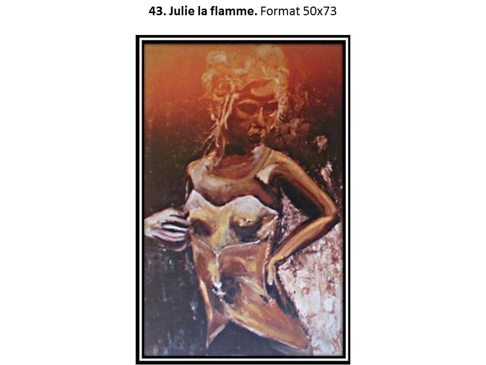 43 julie la flamme 1