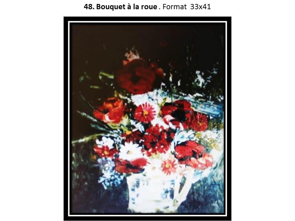 48 bouquet a la roue