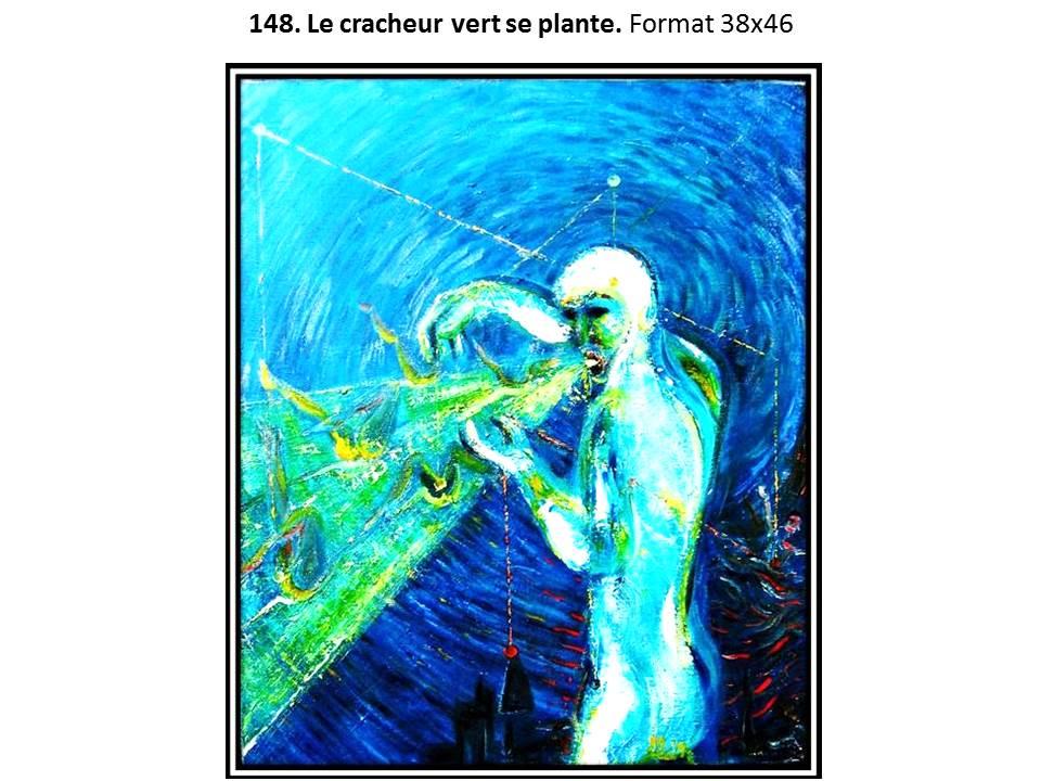 148.Le cracheur vert se plante 1