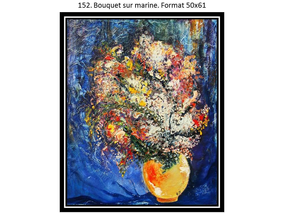 152 bouquet sur marine