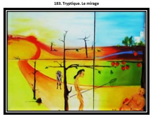 183 triptique le mirage 1