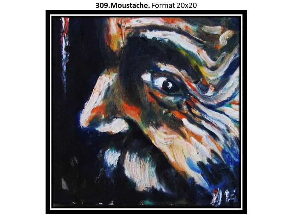 309 moustache