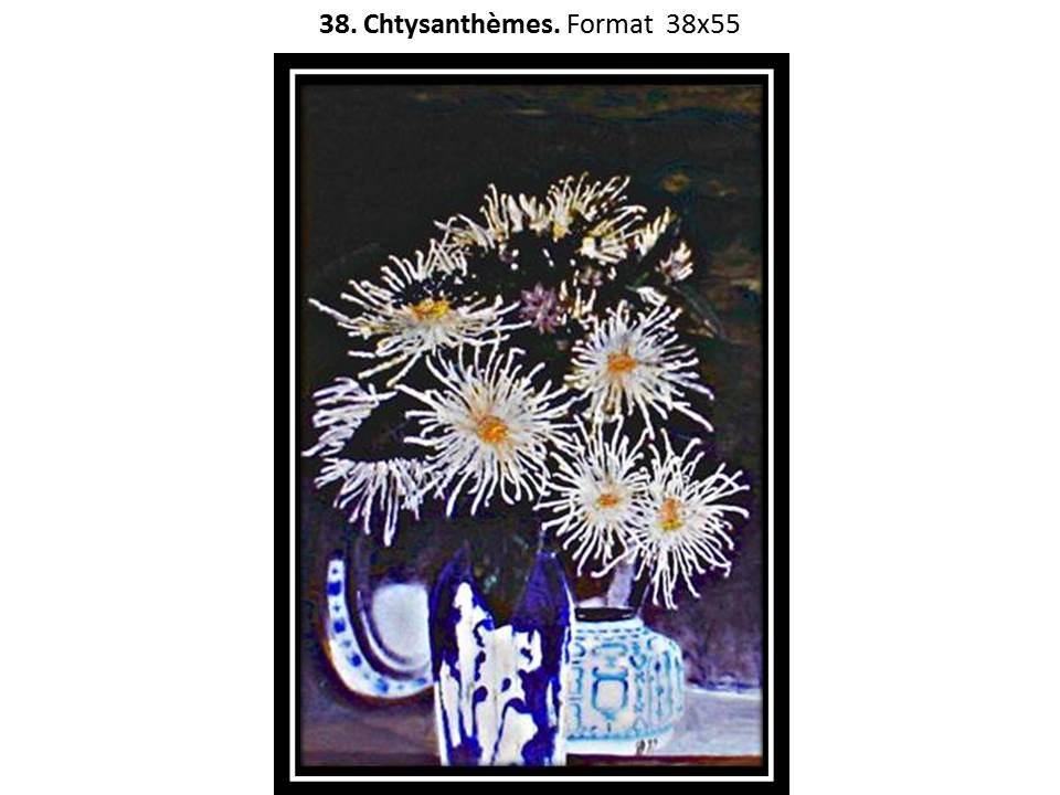 38 chrysanthemes