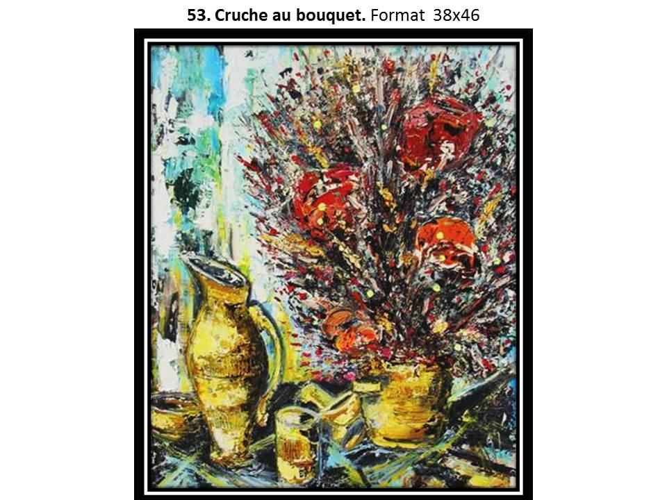 53 cruche au bouquet