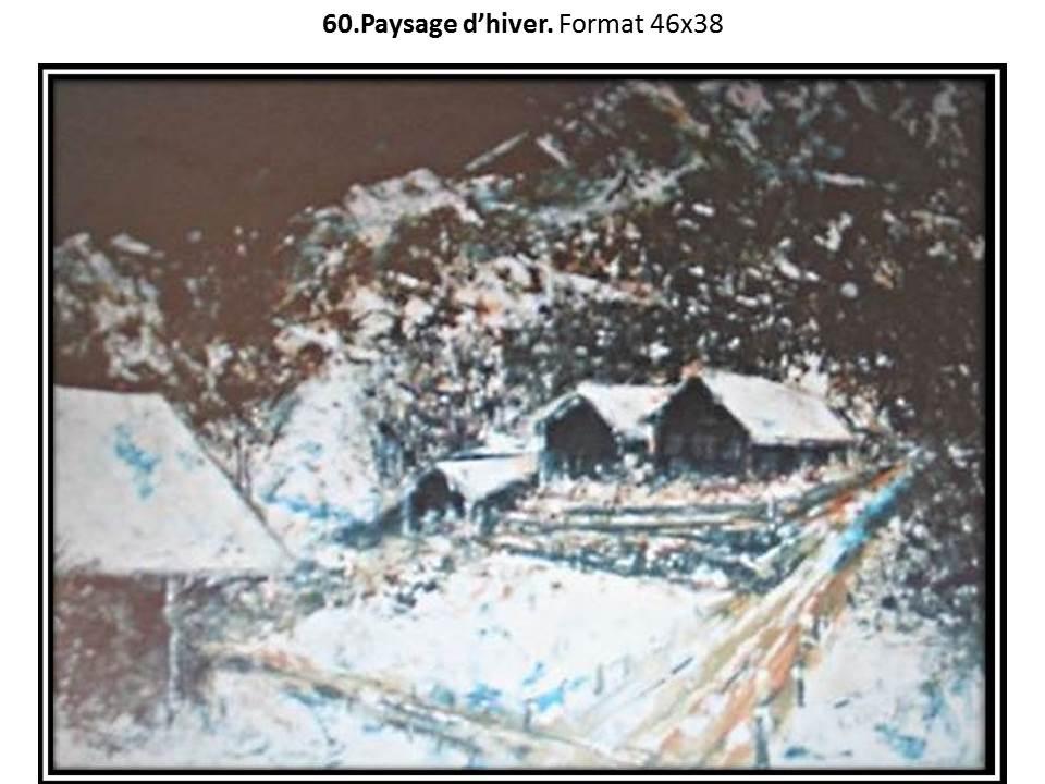 60 paysage d hiver 1