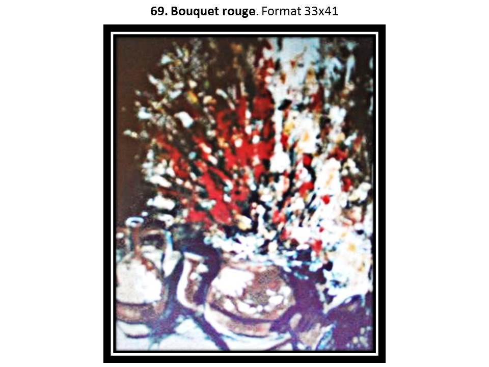 69 bouquet rouge