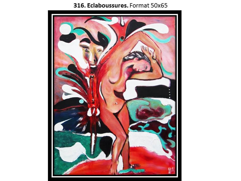 316. Eclaboussures